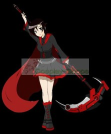 RWBY Red Ruby Rose Boots Cosplay Shoes