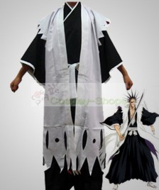 Bleach -  11th Division Captain Zaraki Kenpachi Cosplay Costume