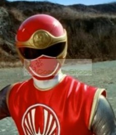 Power Rangers Ninja Storm RED WIND Ranger Cosplay Helmet
