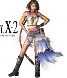 Final Fantasy X-2 12 Yuna Cosplay Costume