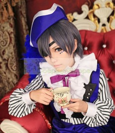 Kuroshitsuji Black Butler Ciel Phantomhive Smile Book of Circus Cosplay Costume