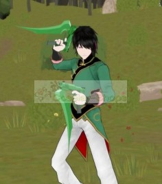 Lie Ren Cosplay Costume from RWBY