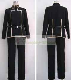 Code Geass Lelouch Lamperouge Black Cosplay Costume