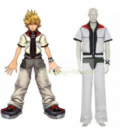 Kingdom Hearts II 2 Roxas Cosplay Costume