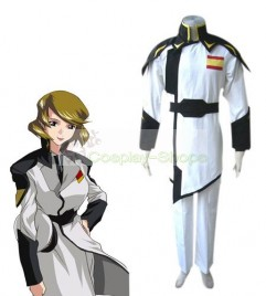 Gundam Seed Destiny Talia Gladys White and Black Cosplay Costume
