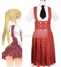 Axis Power Hetalia Gakuen School Uniform Red Cosplay Costume