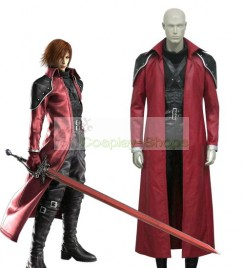 Final Fantasy VII Genesis Rhapsodos Cosplay Costume