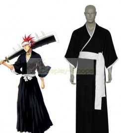 Bleach -  6th Division Lieutenant Abarai Renji Cosplay Costume
