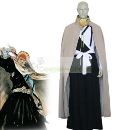 Bleach -  Kurosaki Ichigo Execution Ground Cosplay Costume