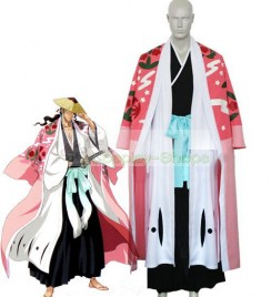 Bleach -  8th Division Captain Kyouraku Shunsui Cosplay Costume