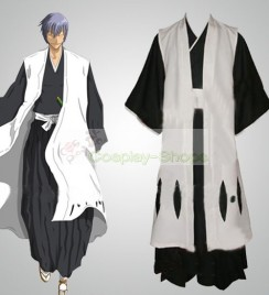 Bleach -  3rd Division Captain Ichimaru Gin Cosplay Costume