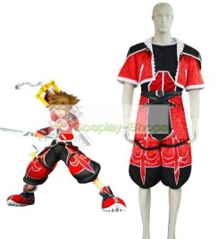 Kingdom Hearts II 2 Sora Brave Form / Valor Form Cosplay Costume