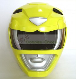 Power Rangers Mighty Morphin (Zyuranger) MMPR Yellow Ranger / Boi / TigerRanger Helmet Cosplay Prop