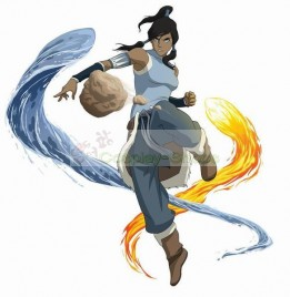 Korra Cosplay Costume From Avatar The Legend of Korra