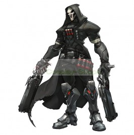 Overwatch Reaper Full Cosplay Costume