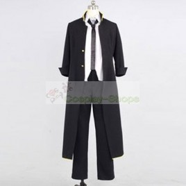 K project Yatogami Kuroh Black Cosplay Costume