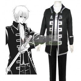 Gintama / Silver Soul School Uniform Cosplay Costume Black