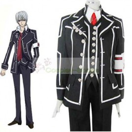 Vampire Knight Men Day Department  Black Uniform Cosplay Costume