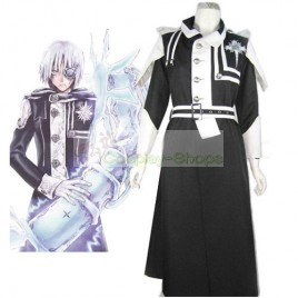 D.Gray Man Allen Walker Cosplay Costume 2nd Black