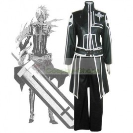 D.Gray Man Allen Walker Cosplay Costume 1st Edition Black