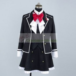 Diabolik Lovers Yui Komori School Girl Uniform Cosplay Costume