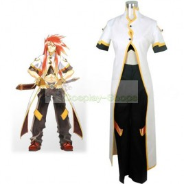 Tales of the Abyss Luke Fon Fabre White and Black Cosplay Costume