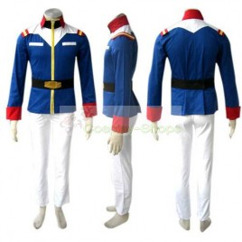 Mobile Suit Gundam Earth Federal Military Uniform Cosplay Costume