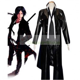 Katekyo Hitman Reborn Rokudo Mukuro 10 Years After Cosplay Costume Black