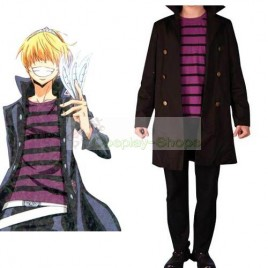 Katekyo Hitman Reborn Belphegor Cosplay Costume Brown