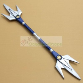 Mighty Morphin Power Rangers MMPR Blue Ranger  Dan Tricera Ranger Cosplay Prop