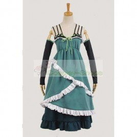Black Bullet Tina Sprout Dress Cosplay Costume
