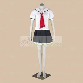 Cardcaptor Sakura Tomoeda Elementary School Girls Summer Uniform Cosplay Costumes