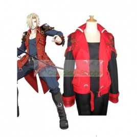 Castlevania Jonathan Morris Red Cosplay Costume