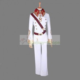 Valvrave the Liberator L-Elf Karlstein Dorssian Military Uniform Cosplay Costume