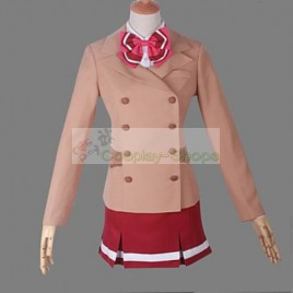 Valvrave the Liberator Sakimori Academy Girls' School Uniform Cosplay Costume