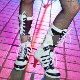 DC Comics Suicide Squad Harley Quinn Cosplay Boots