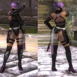 Dead or Alive DOA Ayane Ninja Full Cosplay Costume