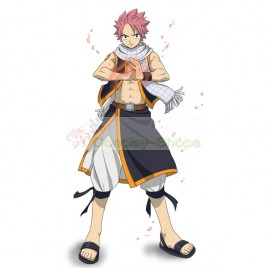Fairy Tail Natsu Dragneel Cosplay Costume Black