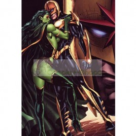 Gamora from Guardians of the Galaxy Comic Version Cosplay Costume