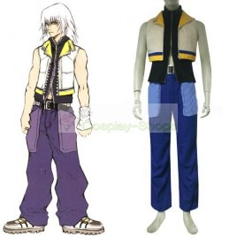 Kingdom Hearts II 2 Riku Cosplay Costume