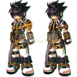 Grand Chase Sieghart Prime Knight Full Outfit Cosplay Costume