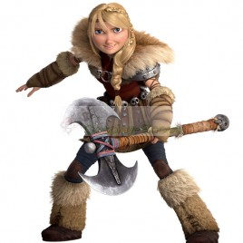 How To Train Your Dragon 2 Astrid Hofferson Full Cosplay Costume