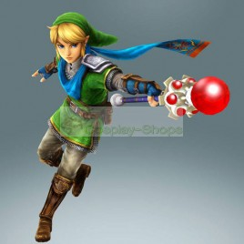 Hyrule Warriors Legend of Zelda Link Full Cosplay Costume