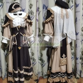 FE3H Mercedes Cosplay Costume from Fire Emblem: Three Houses