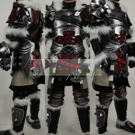 Final Fantasy XIV FF14 Warrior Ardbert Warrior Of Darkness Cosplay armor