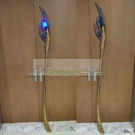The Avengers Loki Chitauri Scepter Weapon Cosplay Prop