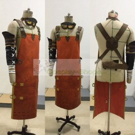 Final Fantasy XIV FF14 Brithael Spade Blacksmith Cosplay Costume