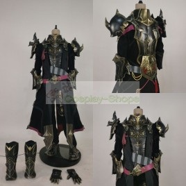 Final Fantasy XIV FF14 ShadowBringers Dark Knight Weathered Bale Set Cosplay Armor