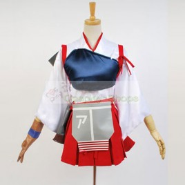 Kantai Collection KanColle Japanese Aircraft Carrier Akagi Cosplay Costumes