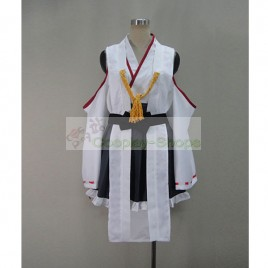 Kantai Collection KanColle Kanmusu Kongou Class Battleship Kirishima Cosplay Costume